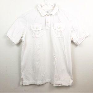 Lands' End Children's Polo Shirt 2 Pockets Size XL